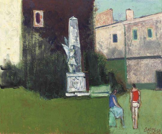 Willem Oepts, Monuments aux Morts Sommières, 1983 via ARTISTIC QUIBBLE