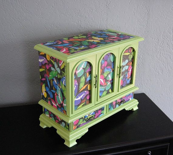 Upcycled French Farmhouse Style Jewelry Box by TheVintageArtistry, $120.00