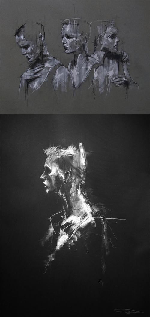 Daily sketches // Guy Denning