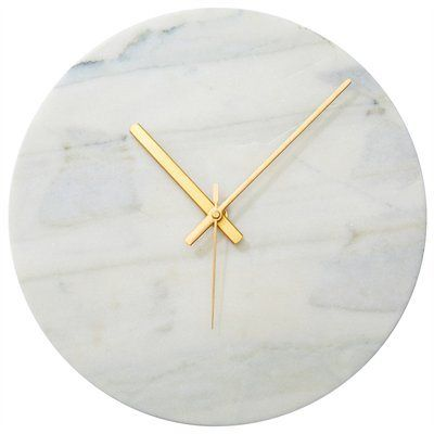 Currently coveting: brass and marble clock