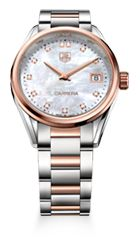 Carrera Lady - Diamants et or rose - Tag Heuer