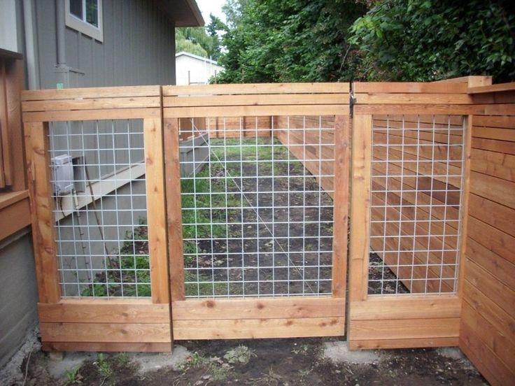 Horizontal Fence With Heavy Duty Gate Deck Masters Llc