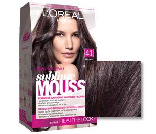 tresses cheveux couleurs de cheveux moka couleur brune coloration des cheveux shampooing mousse conditionnement brun fonc - Coloration Moka
