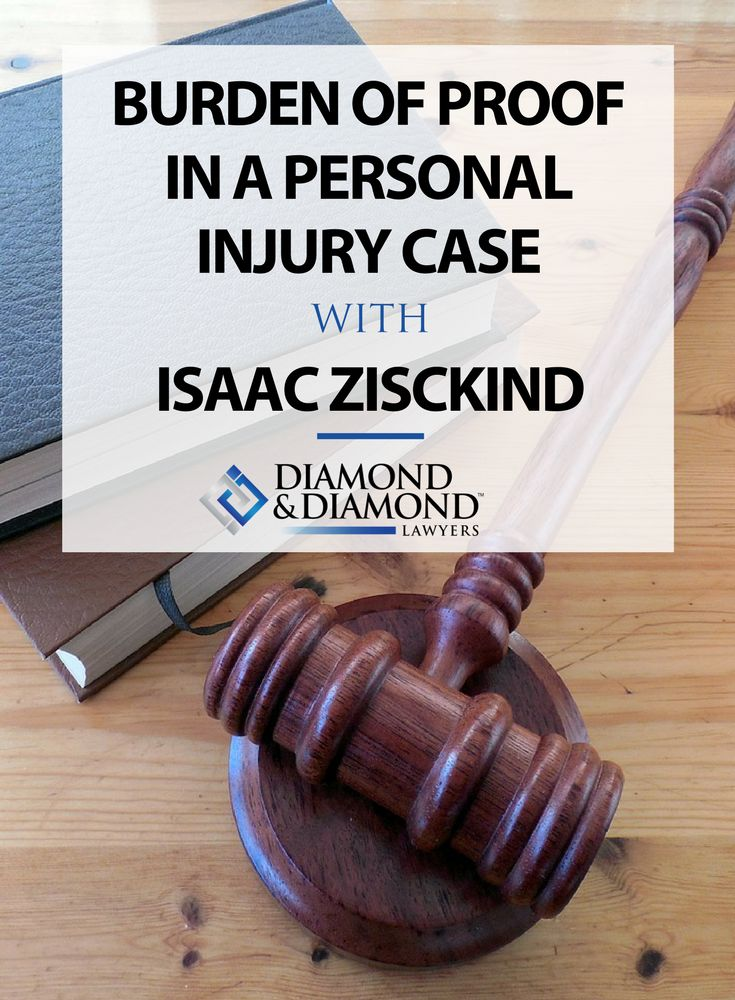 In order to be rewarded with the compensation you deserve after an accident, you have the burden of proving the negligence of another party. Isaac Zisckind discusses the ins and outs of what you need to think about in terms of the burden of proof for personal injury cases, and how you're meant to prove negligence in court. Read more by clicking through here.