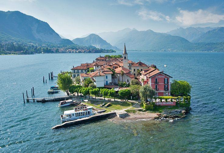 Isola dei Pescatori, population 32. (Stresa, Lake Maggiore, Italy)
