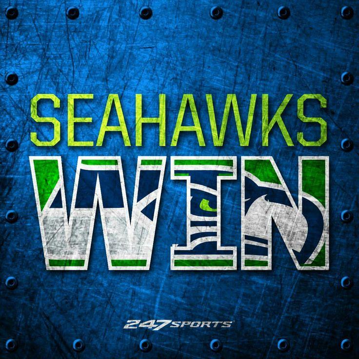 Seahawks Win!!! #SeahawksRawk #GoHawks
