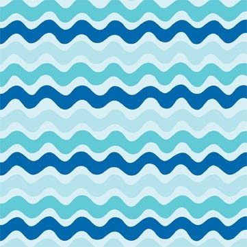 Wall backdrop Zig Zag Stripe in Blue Phoebe Wendy Slotboom 1 by fabriccloset, $7.50