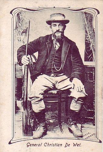 Gen Christiaan De Wet. Anglo Boer War