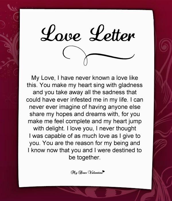 Best 25 Love letter for husband ideas on Pinterest Love letter