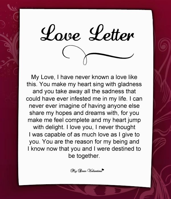 10 Best Images About Love Letters For Her On Pinterest My Love For You Being In Love And To Share