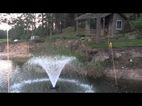 Pond Floating Water Fountain Youtube Floating In Water 640 x 480