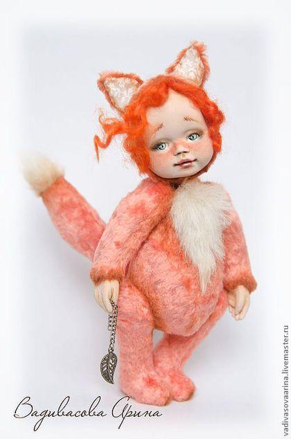Октябрь... - рыжий,лиса,лисичка,тедди,тедди-долл,тедди долл,авторская игрушка http://babochki-v-golove.blogspot.com/