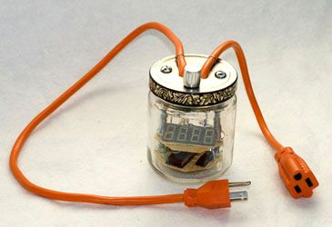 112 best electrical projects images on pinterest electrical enerjar a jar accurately that measures the power draw of electrical appliances solutioingenieria Choice Image