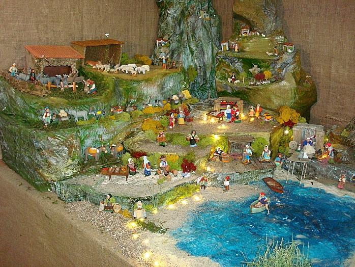 Decoration De Village De Noel Theme De Mer