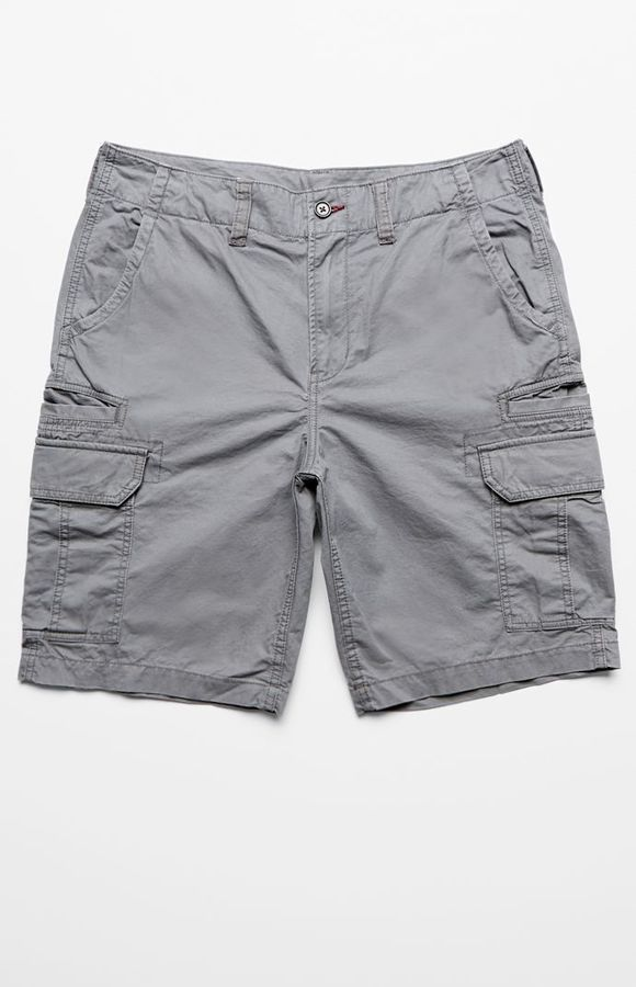Bullhead Denim Co. Solid Cargo Shorts