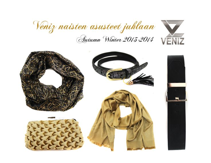 Women accessories Autumn/Winter 2013-2014 www.veniz.fi
