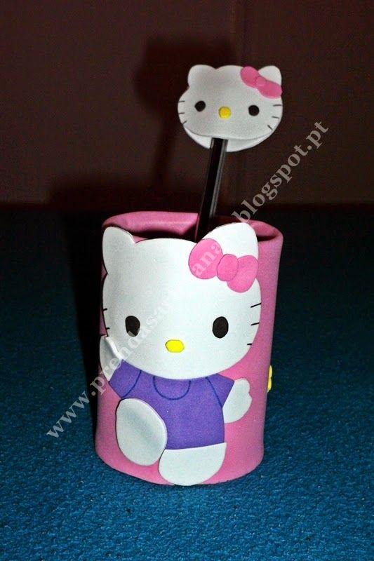 Hello kitty - Porta Canetas