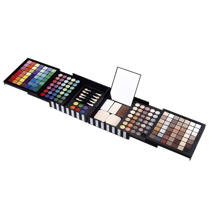 177 Colors Pro Palette Makeup Cosmetic Fashion Eyeshadow Concealer Set