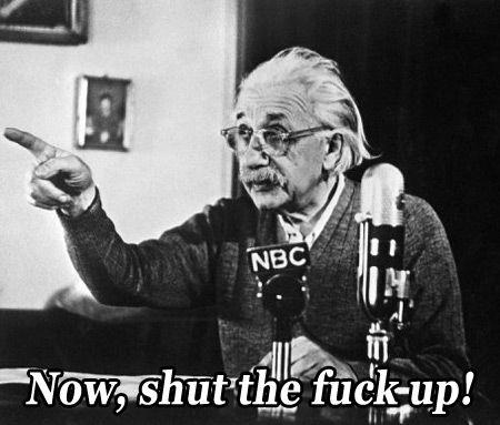 """""""Einstein 'tava certo, nós estávamos errados. Mal ê!"""" » Ceticismo.net"""