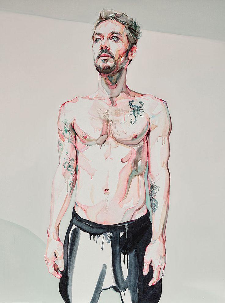 Daniel Johns by Julian Meagher - Archibald Prize 2015 finalist