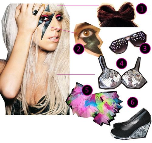 DIY The Look: Lady Gaga: Worth Pin, Things Worth, Gaga Concerts, Lists 33909, Lady Gaga, Inspiration Ideas, Willis Nilli, Diy Clothing, Bday Concerts