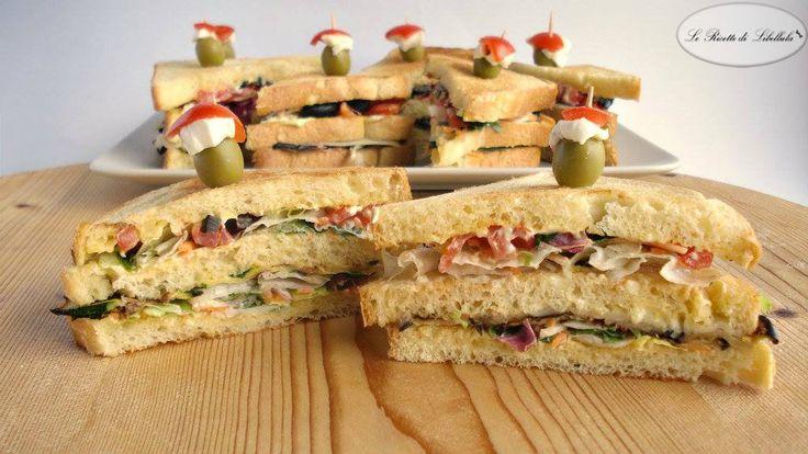 #ClubSandwich #vegetariani #ricetta #GialloZafferano #BlogGZ