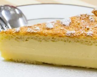 Gâteau magique au chocolat blanc : http://www.fourchette-et-bikini.fr/recettes/recettes-minceur/gateau-magique-au-chocolat-blanc.html