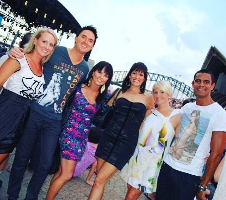 #TBT To a defining life moment in Australia with these beautiful people. Do you remember @emmapask ??? #moment #Sydney #sydneyharbourbridge #australianidol #australia #memories #music @brianhodge81 @lisahrastovec @kelly_mercuri @casey_conway by jamieleewilsonmusic http://ift.tt/1NRMbNv