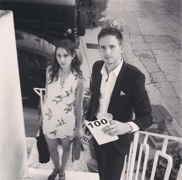 Troian Bellisario and Patrick J Adams