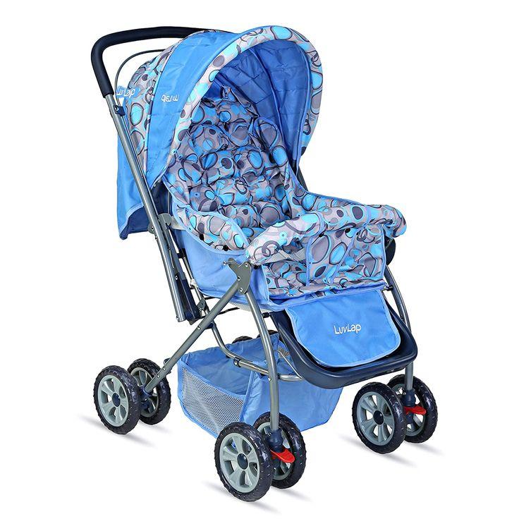 LuvLap Starshine Stroller / Pram, Easy Fold for Newborn ...