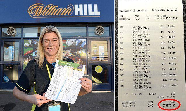 Woman wins £574,278.41 from £1 football accumulator bet