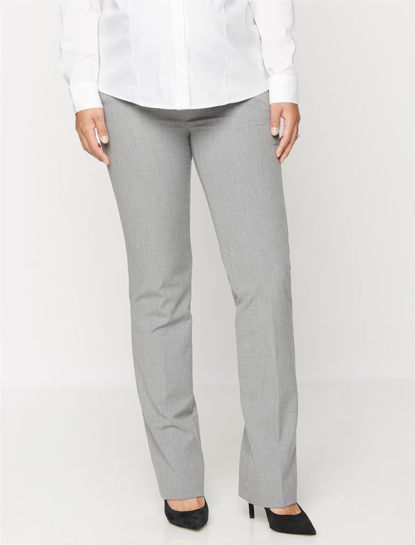 Secret Fit Belly Straight Maternity Suiting Pants