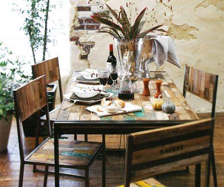 Carbon Dining Table designed by d-Bodhi. #eco-friendyfurniture #hunterfurniture for #furniturehunters