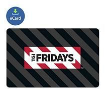 TGI Friday's $25 eGift Card(Email Delivery)