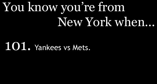 Subway series quotes