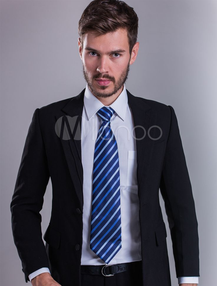 Back Split Business Suit With Buttons - Milanoo.com