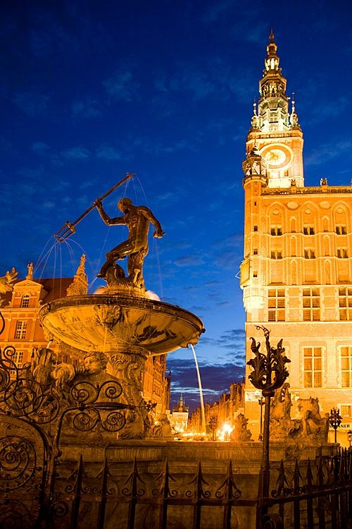 Old Town ~ Gdansk, Poland(Photo by Jim Zuckerman) #monogramsvacation