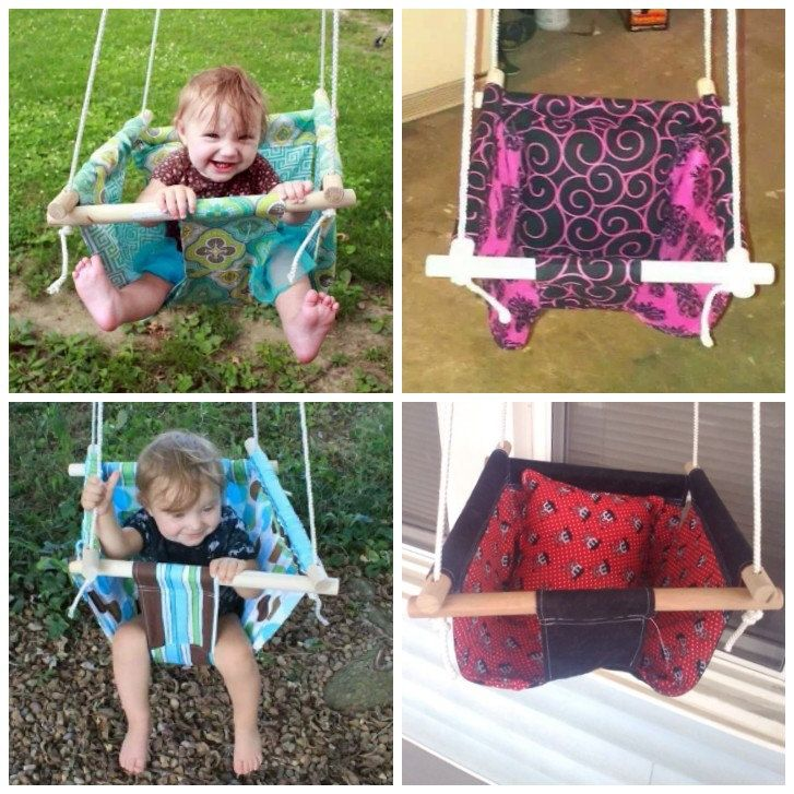The 25 best baby swings ideas on pinterest kids swing for Diy macrame baby swing