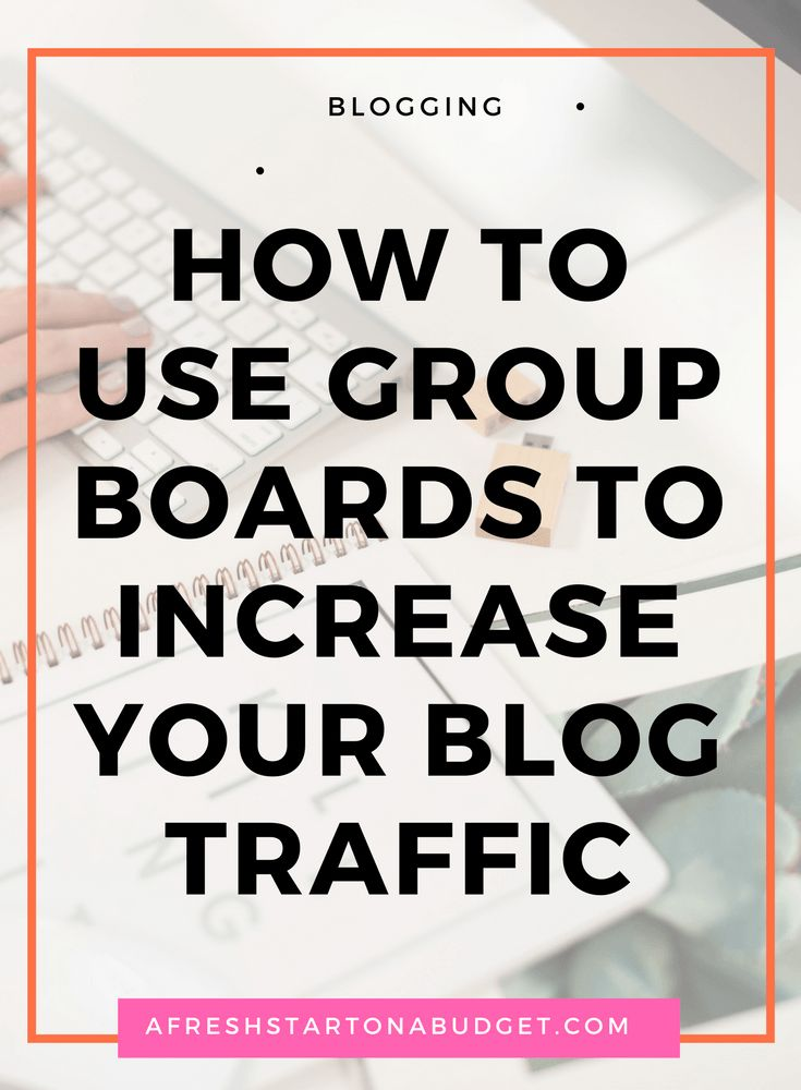 To gain traffic for your blog you will want to use Pinterest as well as you can. So let me show you how to use group boards to do just that.