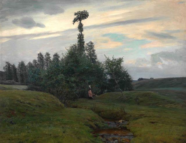 Frantisek Kavan (1866-1941), Odtékání - 1896