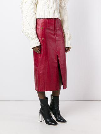 Chloé biker skirt