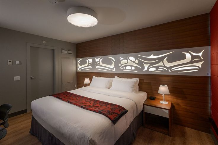 Skwachays Lodge in Vancouver Downtown Eastside.  The Longhouse Suite.