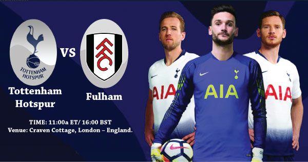 Fulham Vs Tottenham Hotspur Tottenham Hotspur Tottenham Fulham