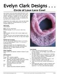 Lace hearts circle this small stockinette stitch cowl. The lace is worked from the top down, and while it appears complex, it is simple to knit and works up quickly. The pattern repeats over 12 stitches and 8 rounds, which means it is easy to customize the size and knit in a variety of yarns.