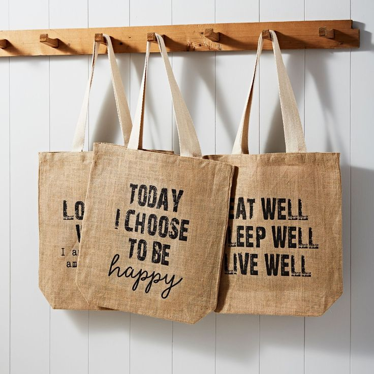 Download Live Well Jute Bag Jute Bags Jute Tote Bags Hessian Bags