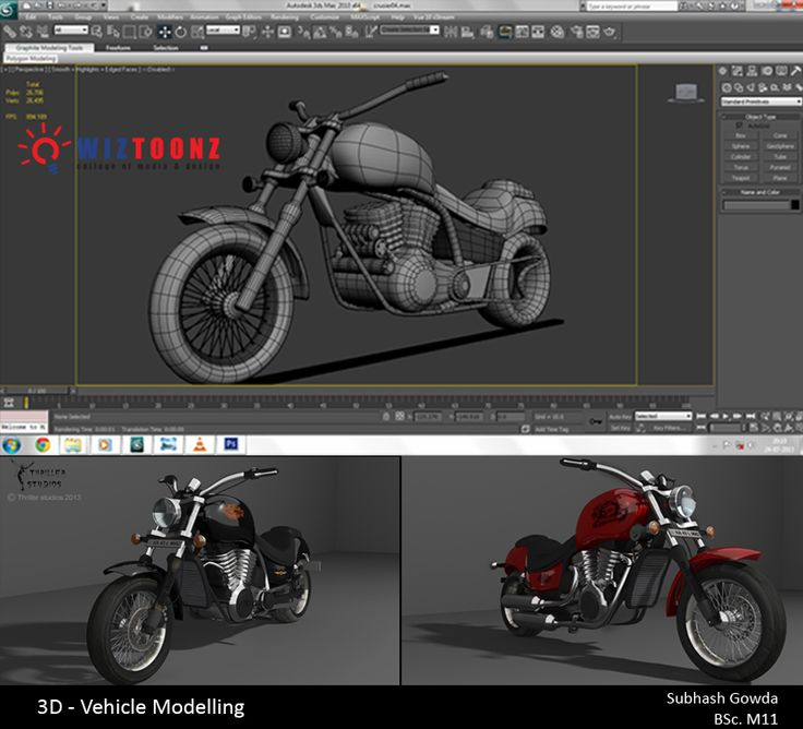 Student Work – 3D Vehicle Modelling – by Subhash Gowda of BSc.M11 batch  #3D #VehicleModelling #3DModelling