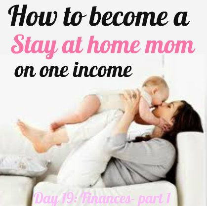 Great money saving tips & activities to become a stay at home