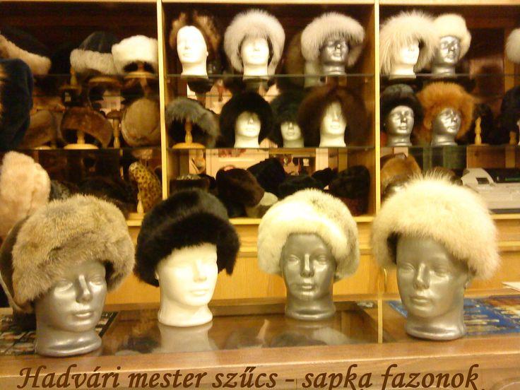 Hadvári sapka fazonok*************** Fur -  Fake fur hats..................................... Hadvári master furrier--------- 1072 Budapest , Rakoczi ut 6  HUNGARY--- Facebook page:  https://www.facebook.com/hadvarisapka.