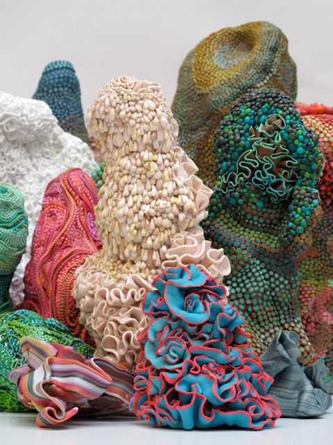 group of sculptures, Angelika Arendt