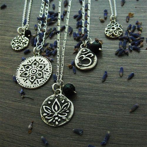 Starfish Mandala Essential Oil Diffuser Necklace